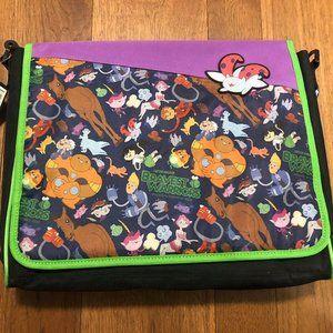 Bravest Warriors Messenger Bag/Backpack NEW